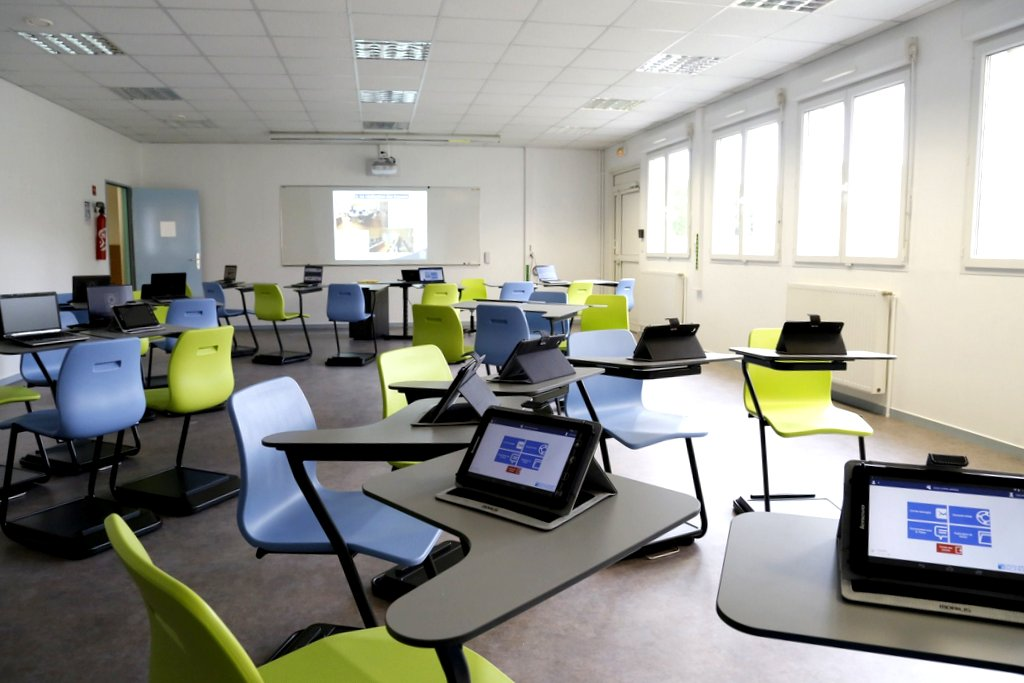 salle tablettes